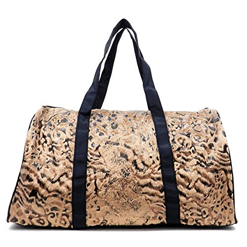 Animal Print Duffle Bag - 6