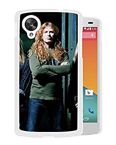 Beautiful Designed Cover Case With Megadeth Band Hair Ball Light (2) For Google Nexus 5 Phone Case