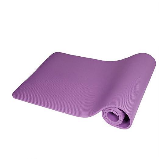 Alfombras de Yoga, 10 mm Espesar Alargar Ampliar Alfombra de ...
