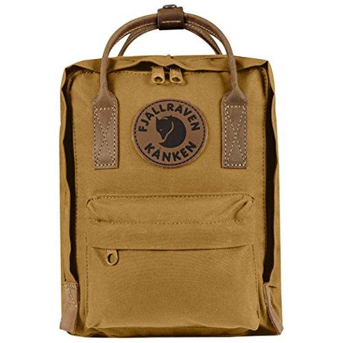 Fjällräven Kånken No. 2Mini Backpack, Unisex Adult, Brown (Acorn), One Size - Kanken Mini Backpack