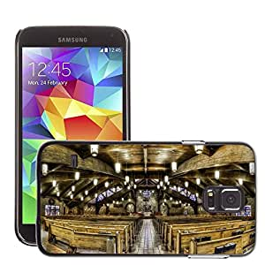 Hot Style Cell Phone PC Hard Case Cover // M00171249 Church Sanctuary Christianity // Samsung Galaxy S5 S V SV i9600 (Not Fits S5 ACTIVE)