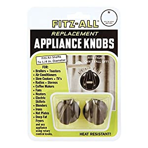 Tops 55713 Fitz-All Replacement Appliance Knobs, Set of 2