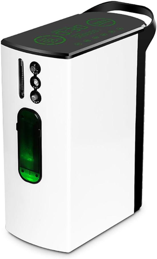 Concentrador de oxígeno BJL Concentrador de oxígeno - Concentrador de oxígeno médico portátil Generador de atomización Salida de oxígeno Máquina 1-5L / Min Purificador de aire en el hogar Monitoreo en