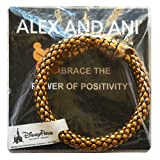 Disney Parks Mickey Mouse Metal Wrap Bracelet by Alex and Ani (Gold)