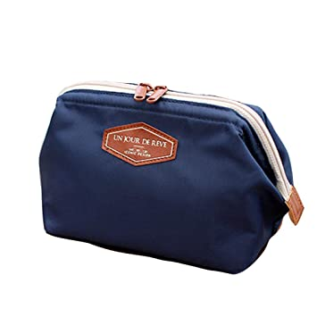 633fe7292b3c Buy Multifunction Makeup Bag Travel Cosmetic Storage Pouch Makeup Brush  Holder Toiletry Case with Zipper Online at Low Prices in India - Amazon.in