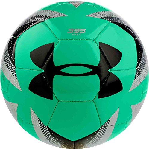 Under Armour Desafio 395 Soccer Ball, Vapor Green, Size 4