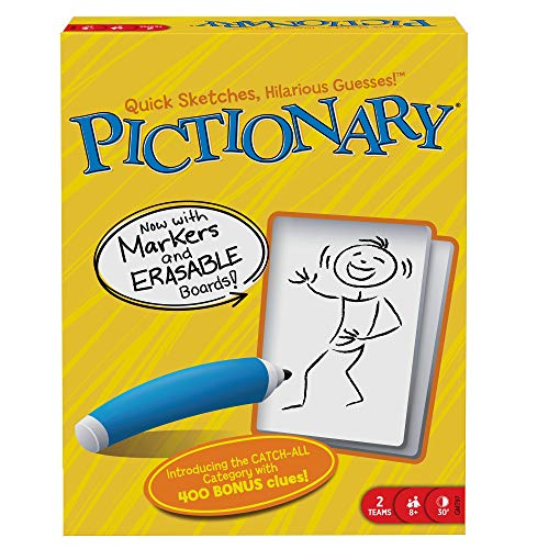 Mattel Games: The Official Pictionary [Amazon Exclusive] (Christmas Pictionary)