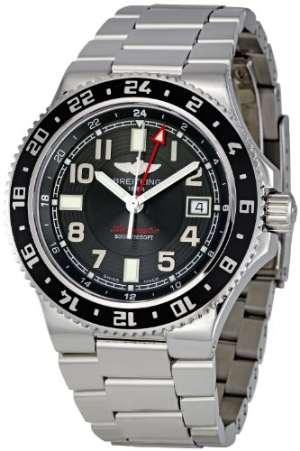 Breitling Aeromarine Superocean GMT Mens Watch A3238011/BA38