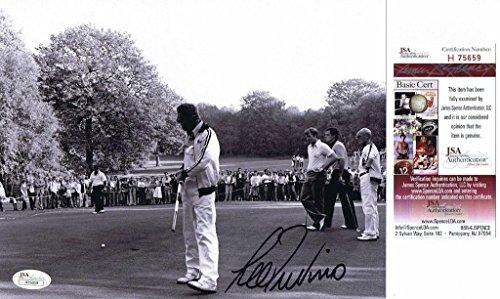 Autographed Lee Trevino Photo - 8x10#H75659 - JSA Certified - Autographed Golf Photos (Golf Photo Autograph Certified 8x10)