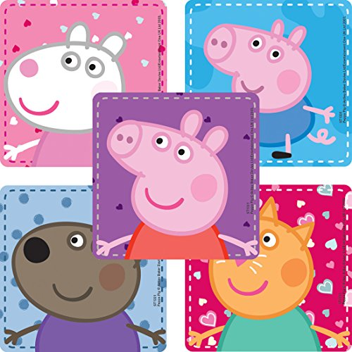 SmileMakers Peppa Pig Stickers - Prizes 100 per Pack]()