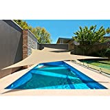 Alion Home 12' x 12'x 12' Triangle Waterproof Woven