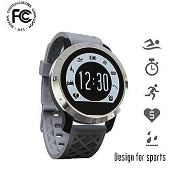 Coualter Montres Connectée Tracker dactivité Meilleur Fitness Smart Watch Montre, avec Suivi du