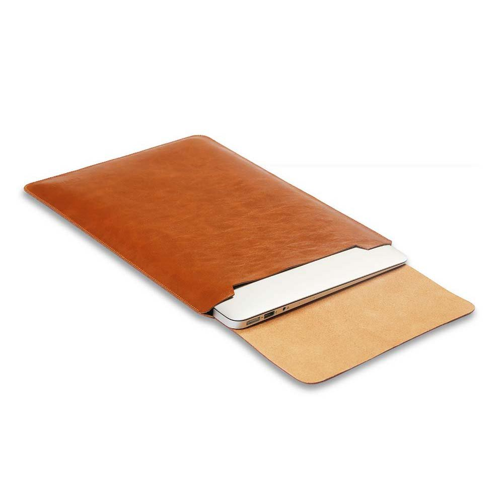 best website 2e3ee 48d9e Soyan 12-Inch Laptop Sleeve Cover for MacBook 12 Inches (Brown)