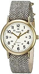 Timex Unisex TW2P719009J Weekender Collection Analog Display Quartz Grey Watch