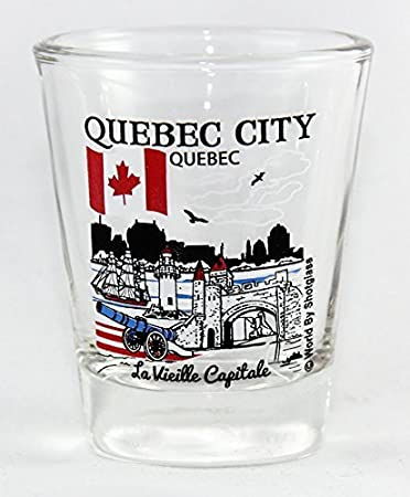 Great Canadian Cities Collection Shot Glass