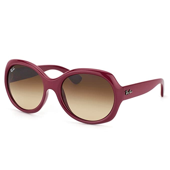 76033094dc Ray-Ban RB 4191 6010-13 57 Woman s Gradient Brown Lens Dark Red Frame  Sunglass  Amazon.ca  Clothing   Accessories
