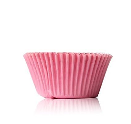 Amazon Com Lautechco 100pcs Muffin Cupcake Paper Cups Oil Proof