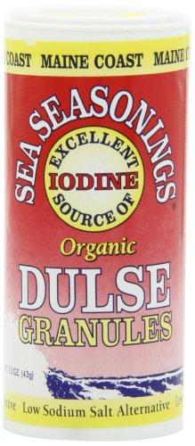 Season's Sea Seasonings, Organic Dulse Granules, 1.5-Ounce Units (Pack of 6)