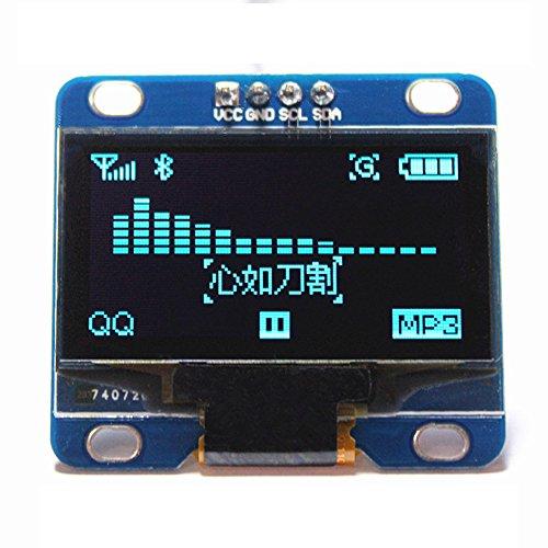 "1.3"" Blue OLED Display I2C IIC Serial 128X64 LCD LED Module SH1106 for Arduino Raspberry Pi DIYmall"