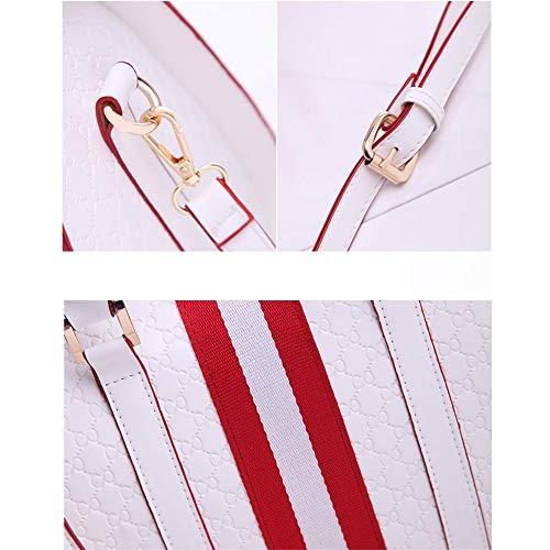Gelaiken Laptops Bags Fashion Handbag, Ladies Leisure Single Shoulder Oblique Span Package, Size 31.5cmx18cmx23cm Padded Computer Bag Large Briefcase for Work by Gelaiken (Image #5)