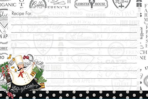 Lang Let's Get Cooking Recipe Card by LoriLynn Simms, 4 x 6 inches (2015095)