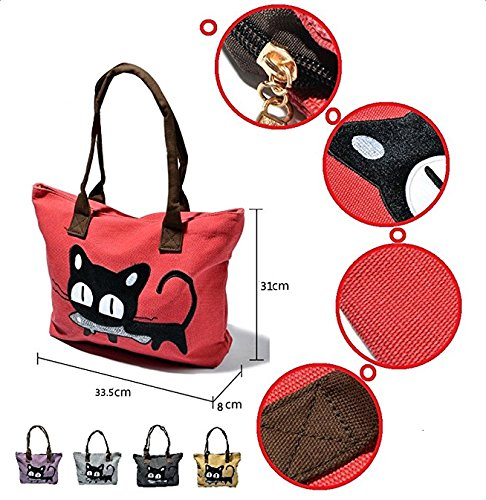 mujer para de mochila Bolso LAAT Red Lona FUxXBgn