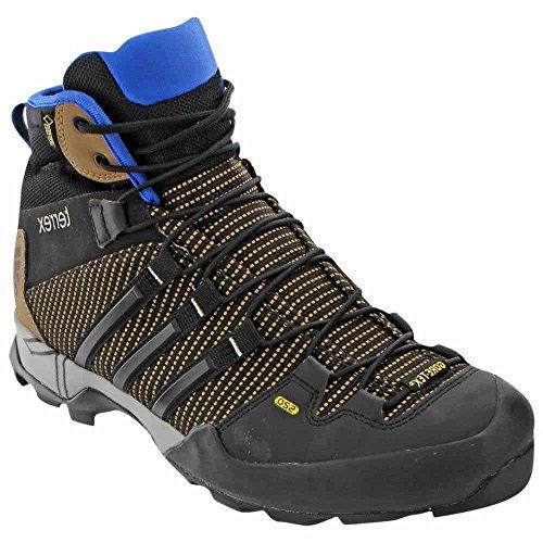 Adidas Outdoor Mens Terrex Scope High Gtx Scarponcini Da Trekking Terra, Nero, Blu Eqt