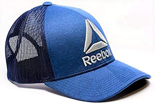 Reebok Delta Logo Meshback Snapback Trucker Hat
