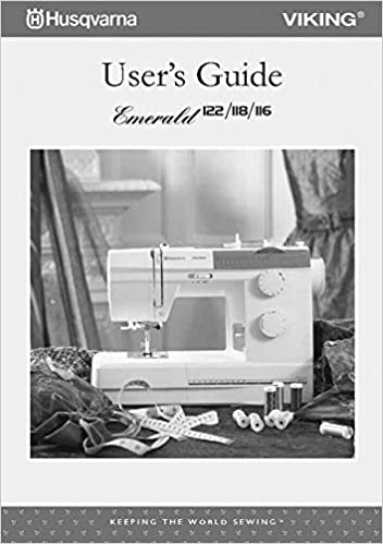 Digital Husqvarna Viking Designer 1 Sewing Machine Owner Handbook Workbook Book