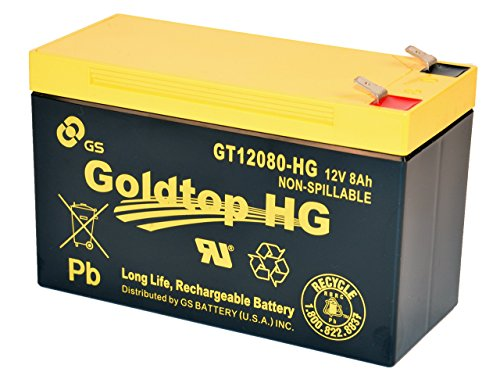 Gs Battery   Gt12080 Hg   Premium Replacement For Px12072 For For At T  Centurylink And Most Other Ftth Systems