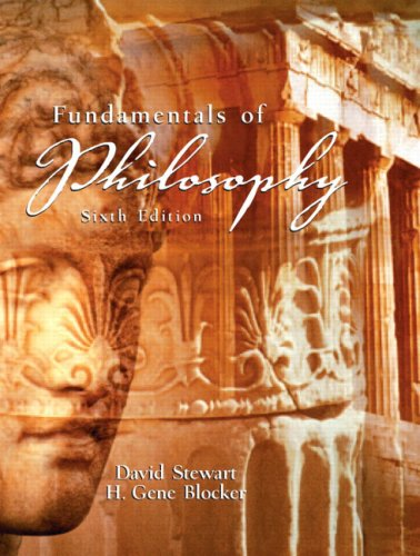 Fundamentals of Philosophy (6th Edition)