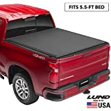 "Lund Genesis Elite Roll Up, Soft Roll Up Truck Bed Tonneau Cover | 96872 | Fits 2015 - 2020 Ford F-150 5' 5"" Bed"