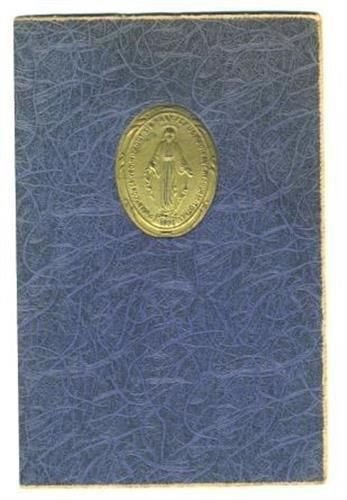 St Mary's Seminary Association of Miraculous Medal Certificate 1955