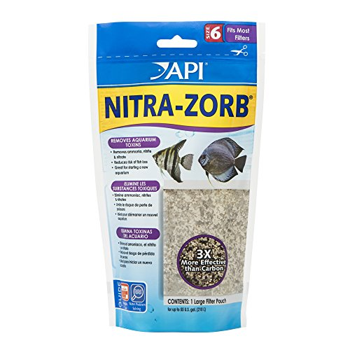 Water Softener Pillow - API NITRA-ZORB SIZE 6 Aquarium Canister Filter Filtration Pouch 1-Count Bag