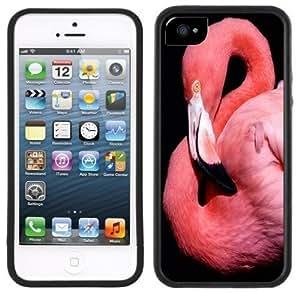 LJF phone case Flamingo Handmade iphone 6 4.7 inch Black Case