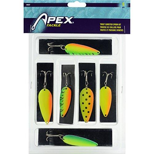 Gamefish Kit - Apex Ap Trout Gamefish Spoon Kit fishing-equipment