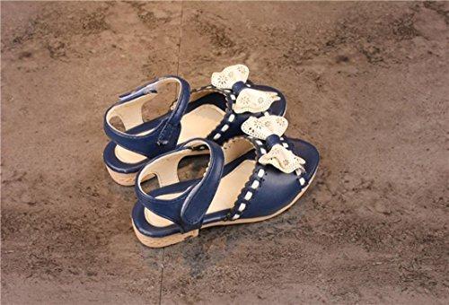 Transer Kinder Baby Bogen Spitze Sandalen Prinzessin Schuhe Sommer Weichen Strand Mode BU