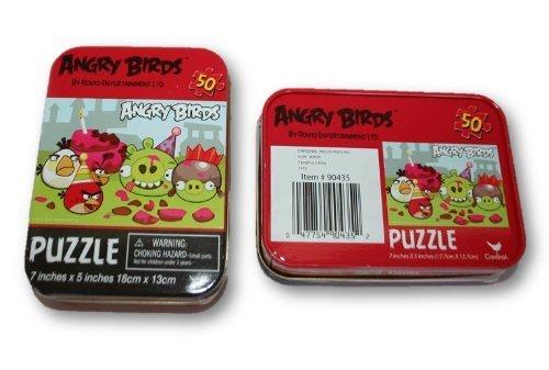 Cardinal Angry Birds Mini Tin Kids Fun Puzzles