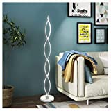 WYQSZ Floor Lamp Bedroom Living Room Warm Dimmable Nordic Creative Vertical Table Lamp Floor Lamp -6146 Table lamp (Color : A)