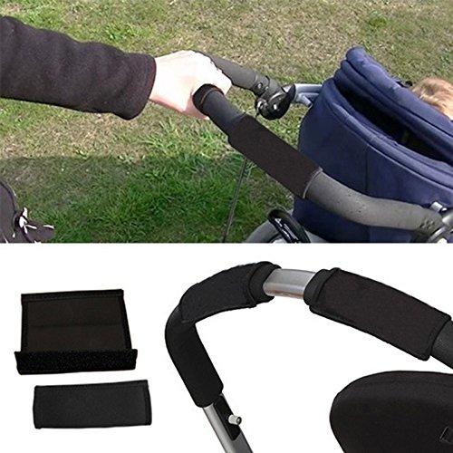 ieenay 2 pcs B/éb/é Poussette Grip Couverture Skid Multi R/ésistance Fauteuils Roulants Poussette Non-Slip Tapis Mains Protecteur Couverture Outils