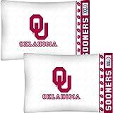 NCAA Oklahoma Sooners Football Set of Two Pillowcases