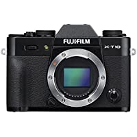 Fujifilm X-T10 Body Black Mirrorless Digital Camera (Old Model)