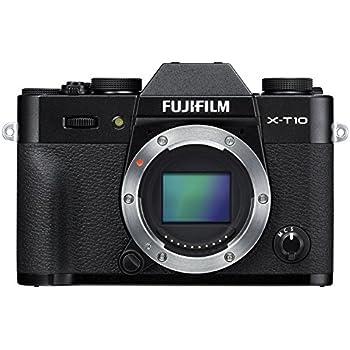 Fujifilm X-T10 Body Black Mirrorless Digital Camera (Old Model)