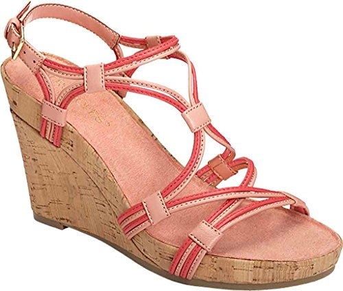 aerosoles-womens-real-plush-wedge-sandal-coral-combo-10-m-us