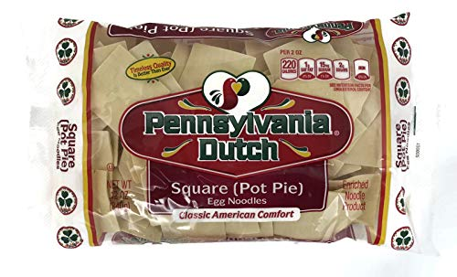 Bott Boi Pennsylvania Dutch Chicken Pot Pies Squares Noodles (Quantity of 2)