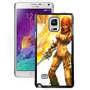 Popular And Durable Designed Case For Samsung Galaxy Note 4 N910A N910T N910P N910V N910R4 With Golden Axe Beast Rider Phone Case