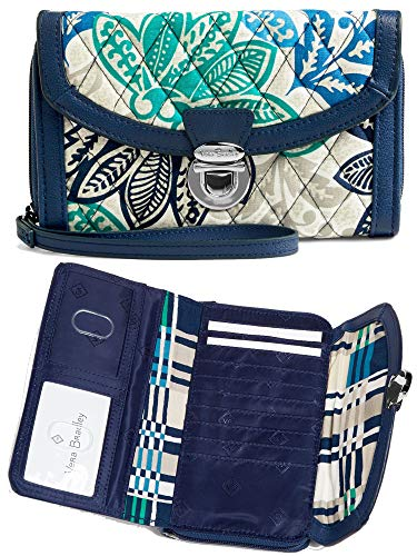 Vera Bradley Women's Quilted Cotton Ultimate Wristlet