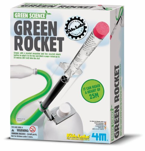 4M Green Rocket (Green Science Soda)