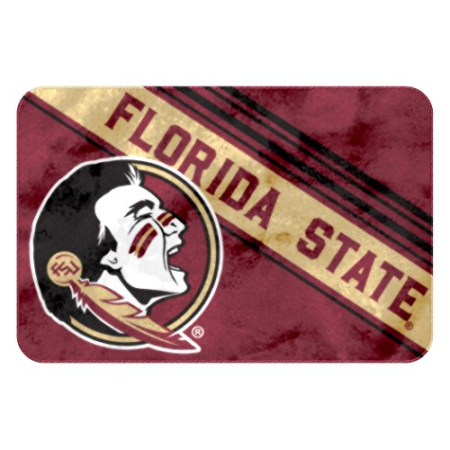 The Northwest Company Officially Licensed NCAA Florida State Seminoles Raschel Rug with Non-Skid Backing, 20