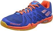 Babolat Shadow Team Mens Indoor Court Shoe (Blue/Orange)